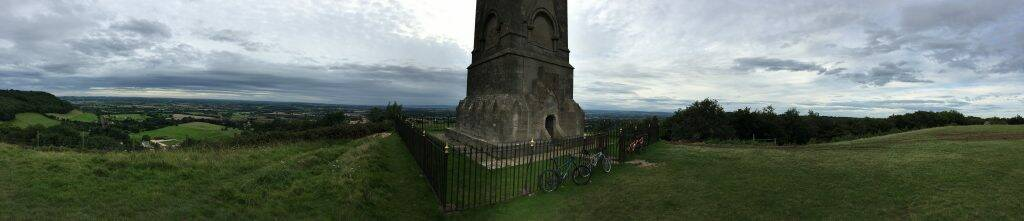 Nibley ride Tyndall monument